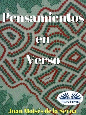cover image of Pensamientos En Verso