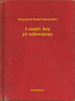 cover image of I część