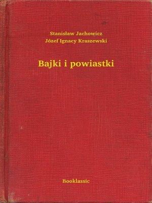 cover image of Bajki i powiastki