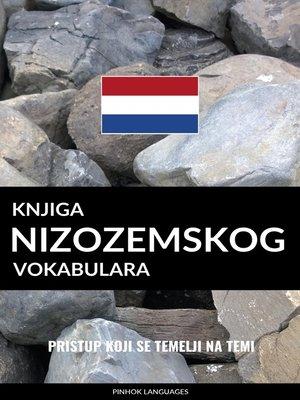 cover image of Knjiga nizozemskog vokabulara