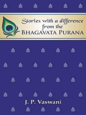 cover image of Stories with a difference from the Bhagavata Purana