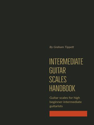 cover image of Intermediate Guitar Scales Handbook
