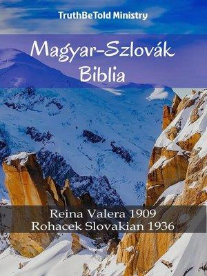 cover image of Magyar-Szlovák Biblia
