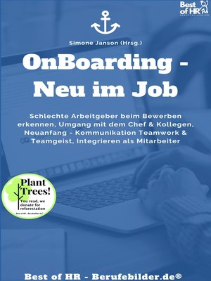 cover image of Onboarding--Neu im Job