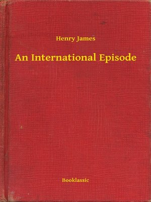cover image of An International Episode
