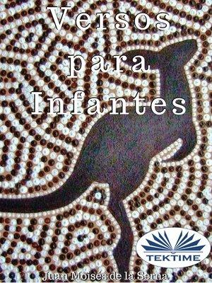 cover image of Versos Para Infantes