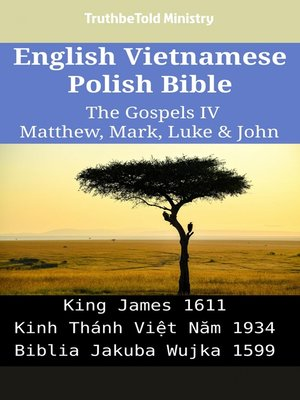 cover image of English Vietnamese Polish Bible - The Gospels IV - Matthew, Mark, Luke & John