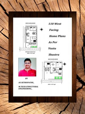 cover image of 110 West Facing Home Plans As Per Vastu Shastra