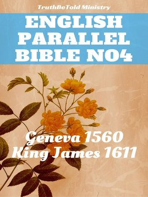 cover image of English Parallel Bible No4