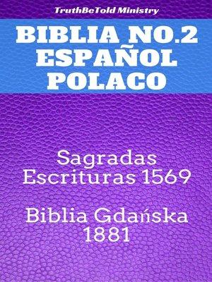 cover image of Biblia No.2 Español Polaco