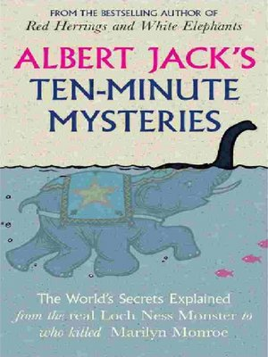 cover image of Albert Jack's Ten Minute Mysteries