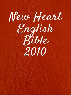 cover image of New Heart English Bible 2010
