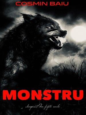 cover image of Monstru