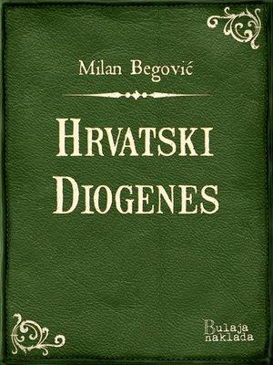cover image of Hrvatski Diogenes