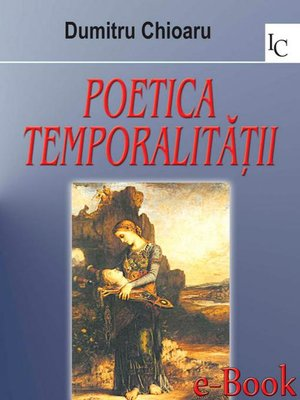 cover image of Poetica temporalității