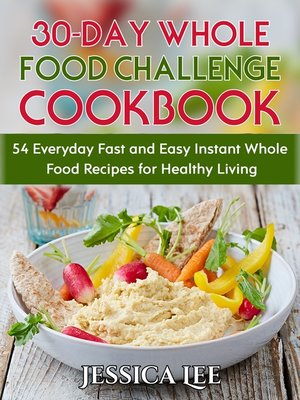 cover image of 30-Day Whole Food Challenge Cookbook