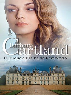 cover image of O Duque e a Filha do Reverendo