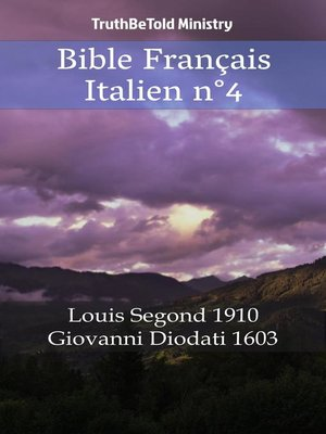 cover image of Bible Français Italien n°4