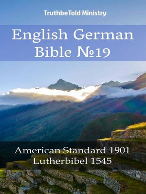 cover image of English German Bible №19