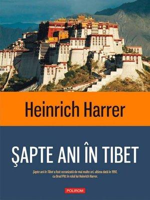 cover image of Șapte ani în Tibet
