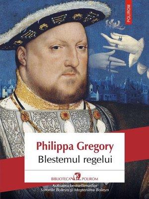 cover image of Blestemul regelui