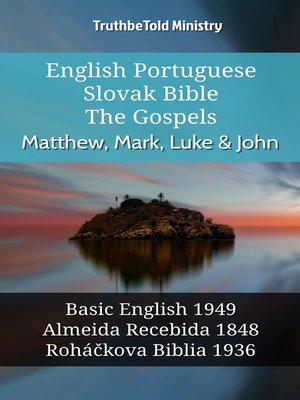 cover image of English Portuguese Slovak Bible--The Gospels--Matthew, Mark, Luke & John