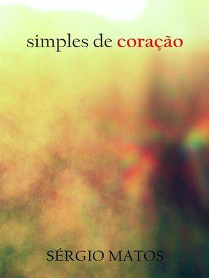 cover image of Simples de coração