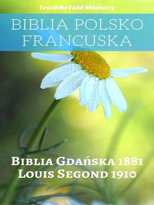 cover image of Biblia Polsko Francuska