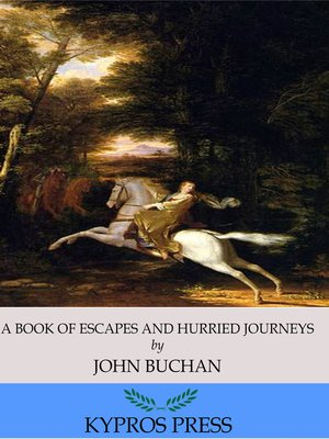 cover image of A Book of Escapes and Hurried Journeys