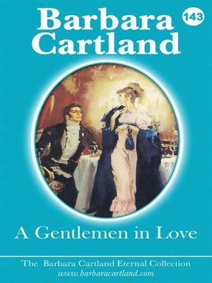 cover image of A Gentlemen In Love