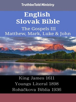 cover image of English Slovak Bible - The Gospels III - Matthew, Mark, Luke & John
