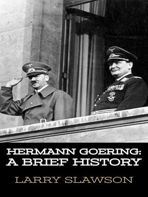 cover image of Hermann Goering
