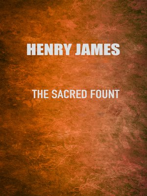cover image of The Sacred Fount
