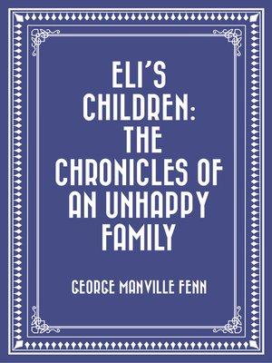 cover image of Eli's Children