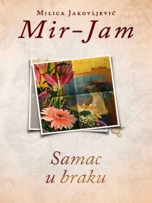 cover image of Samac u braku