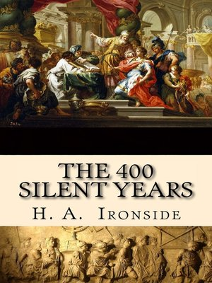 cover image of The Four Hundred Silent Years