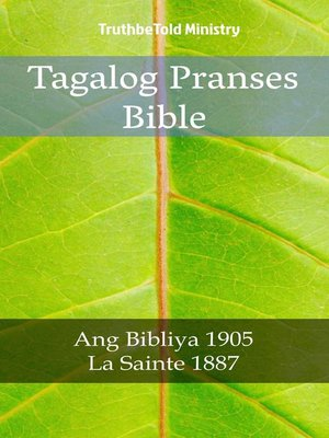 cover image of Tagalog Pranses Bible