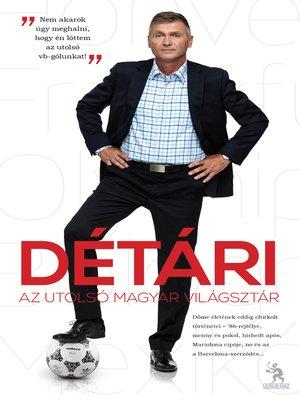 cover image of Détári