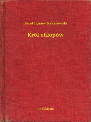cover image of Król chłopów