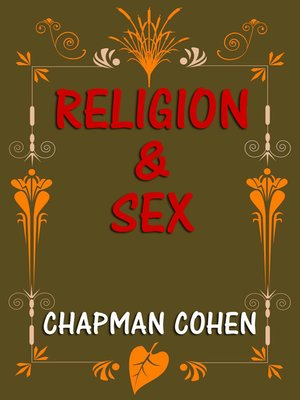 cover image of Religion & Sex