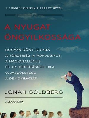 cover image of A nyugat öngyilkossága