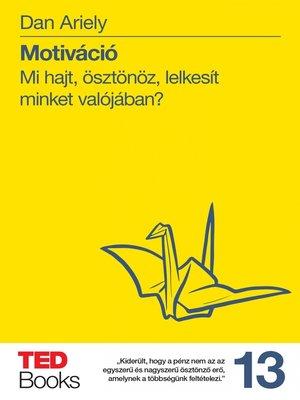 cover image of Motiváció