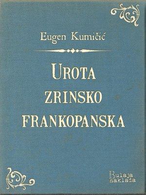 cover image of Urota zrinsko-frankopanska