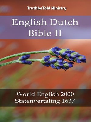 cover image of English Dutch Bible II
