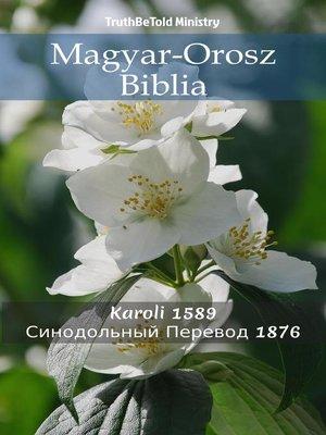 cover image of Magyar-Orosz Biblia