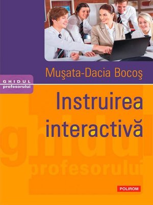 cover image of Instruirea interactivă