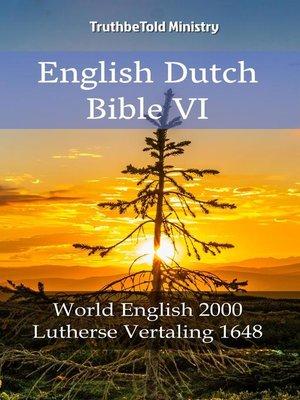 cover image of English Dutch Bible VI