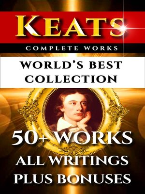 cover image of John Keats Complete Works – World's Best Collection
