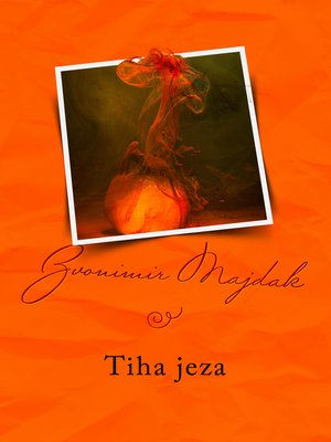 cover image of Tiha jeza