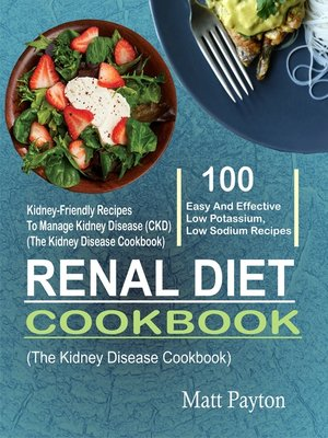 cover image of Renal Diet Cookbook